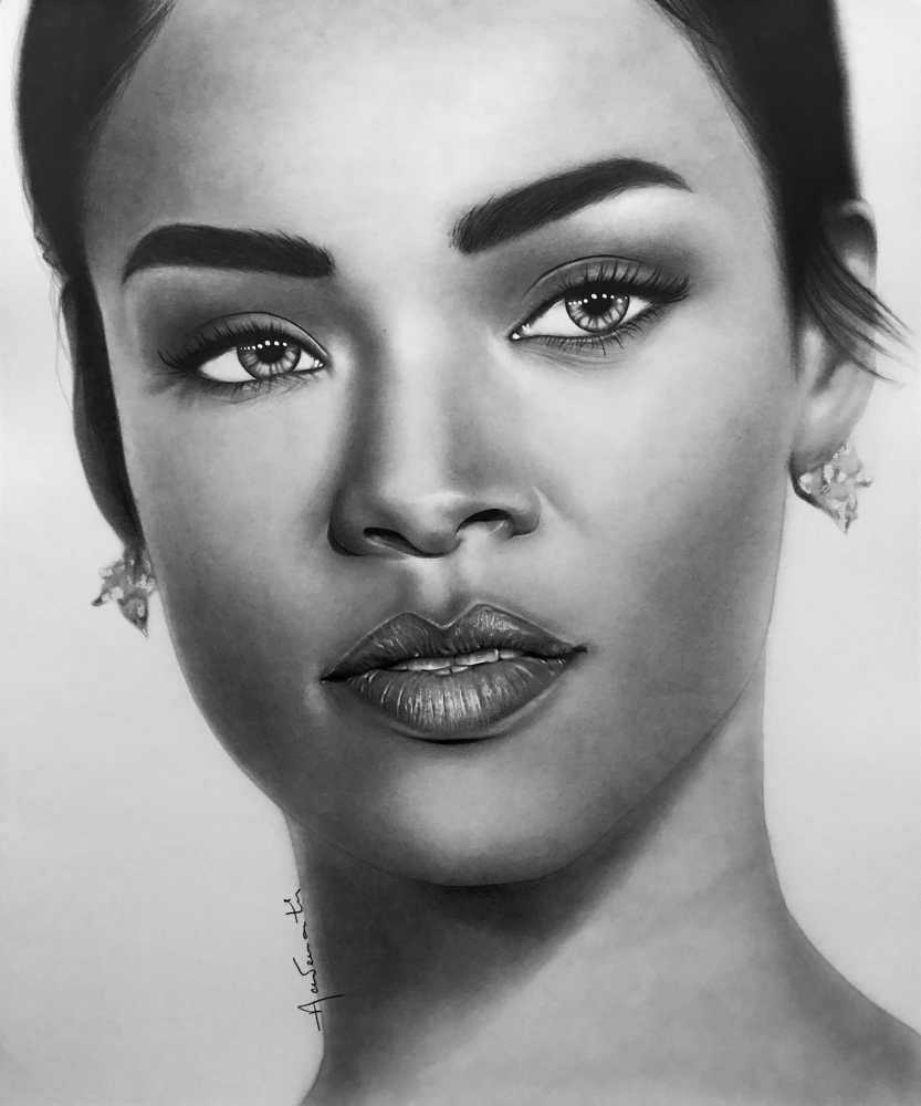 Rihanna by Aademantis